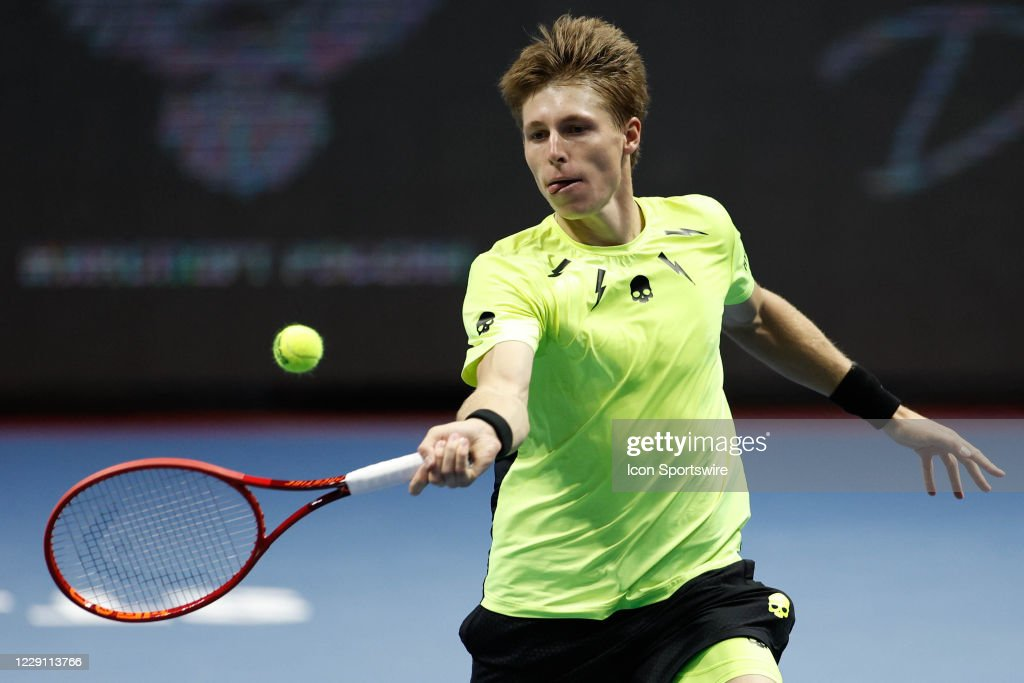 TENNIS: OCT 15 St Petersburg Open : News Photo