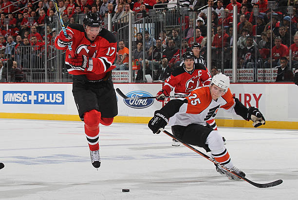 Philadelphia Flyers v New Jersey Devils - Game One Photos and Images ... c5bba76fe