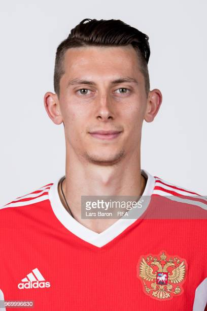 Ilya Kutepov of Russia poses for a portrait during the official FIFA World Cup 2018 portrait session at Federal Sports Centre Novogorsk on June 8...