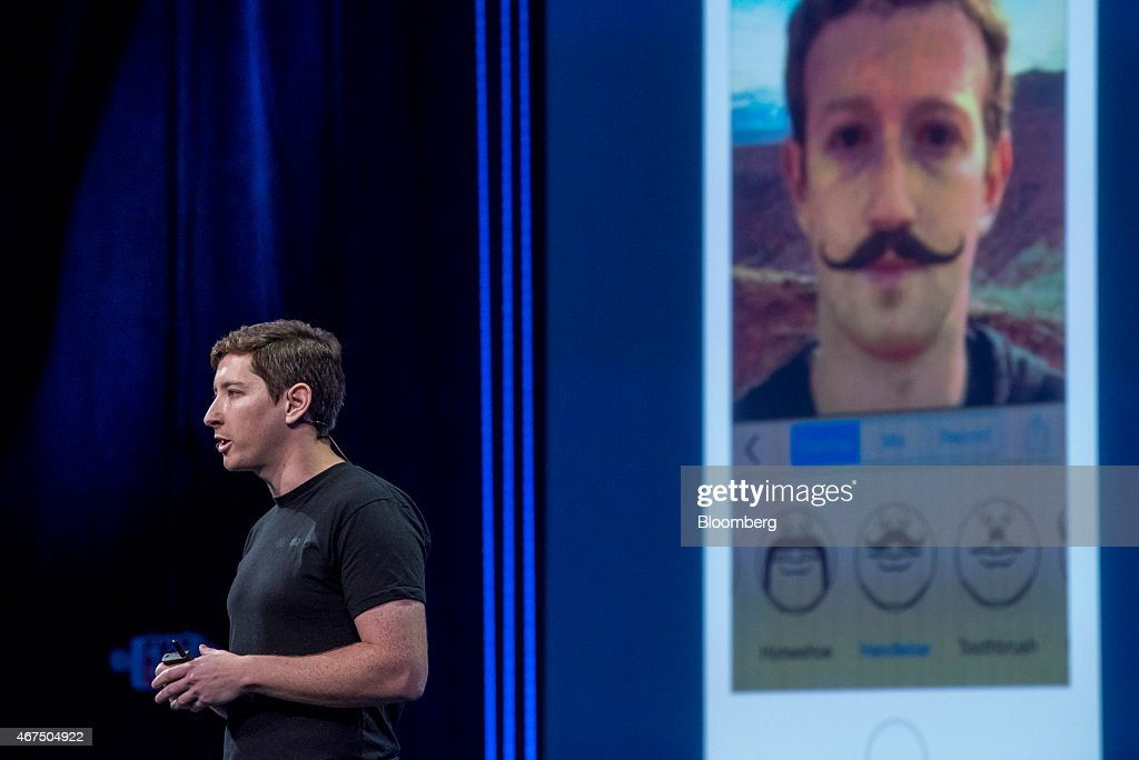 Ilya Sukhar, founder and chief executive officer at Parse Inc., speaks during the Facebook F8 Developers Conference in San Francisco, California, U.S., on Wednesday, March 25, 2015. Facebook Inc. is opening up its Messenger chat application, letting developers create software for people to add photos, videos and other enhancements to their online conversations. Photographer: David Paul Morris/Bloomberg via Getty Images