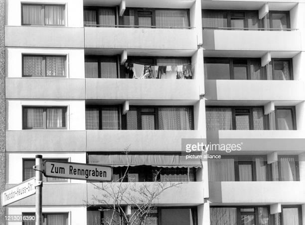 Im 3. Stockwerk des Hauses am Renngraben 8 in Erftstadt-Liblar soll nach einer Erklärung der Bundesanwaltschaft vom 1.3.1978 Hanns Martin Schleyer...