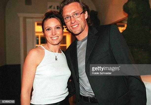 SAISONABSCHLUSSFEIER im Hamburger Restaurant'WOLLENBERG ' Thomas DOLL mit Ehefrau ROBERTA