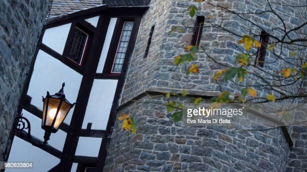 Im Innenhof der Burg Altena, Sauerland