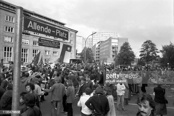 Im Zentrum des Grindelviertels in Hamburg ist der ehemalige Bornplatz zu Ehren des chilenischen Staatspräsidenten Salvador Allende in Allende-Platz...