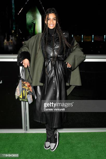 Imaan Hammam attends the MDL Beast Festival on December 19 2019 in Riyadh Saudi Arabia