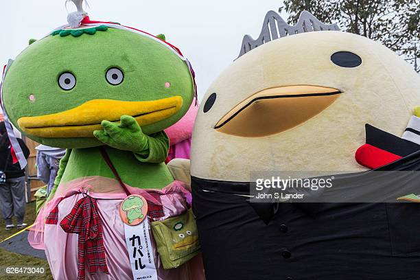 Imabari Baryis and Kapalu Mascot Japanese celebrate the silly eccentric and adorable like no other country Its obsession with the yurukyara mascots...