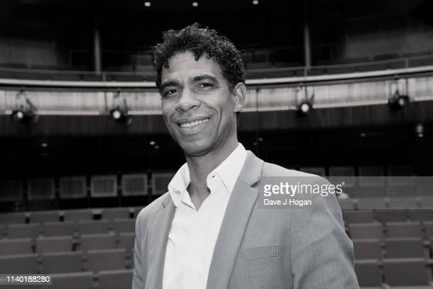 Image converted to black white Carlos Acosta attends the Yuli – The Carlos Acosta Story screening reception at The Royal Opera House on April 03 2019...