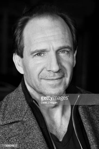 Image converted to black white Ralph Fiennes attends The White Crow special screening in partnership with The Dorchester at Curzon Cinema Mayfair on...
