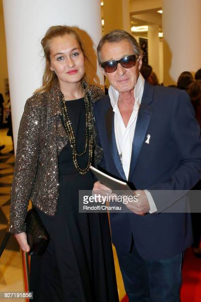 Image Director at Chanel Eric Pfrunder and his daughter attend the Cesar Film Awards 2018 at Salle Pleyel on March 2 2018 in Paris France
