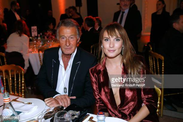 Image Director at Chanel Eric Pfrunder and Revelation for Ce qui nous lie Ana Girardot attend the 'Cesar Revelations 2018' Party at Le Petit Palais...
