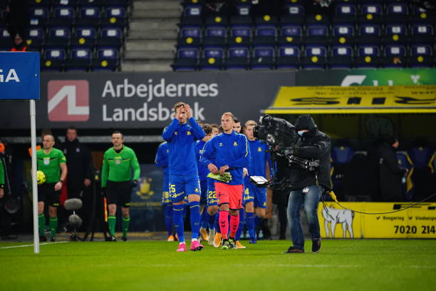 DNK: Brøndby IF vs Lyngby Boldklub - Danish 3F Superliga