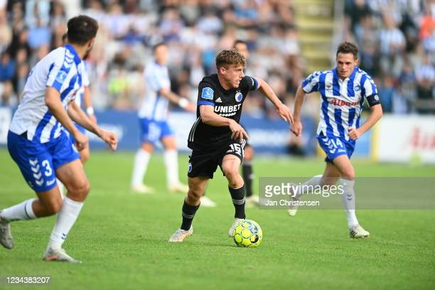 Image from the Danish 3F Superliga match between OB Odense and FC Copenhagen at Nature Energy Park on August 01, 2021 in Odense, Denmark.