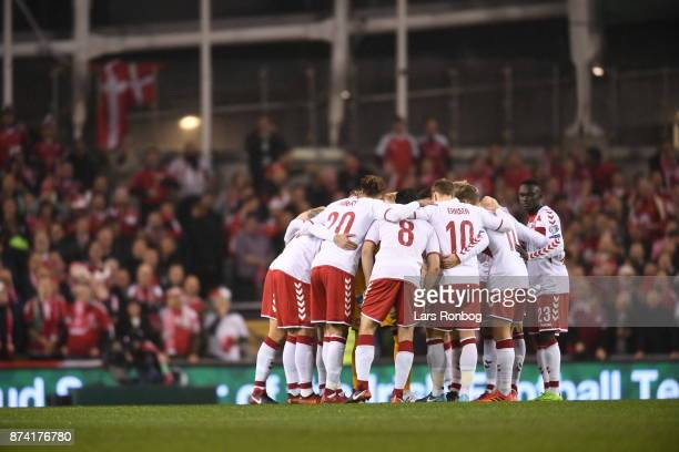 Image from the World Cup Qualifier PlayOff Second Leg match between Republic of Ireland and Denmark at Aviva Stadium on November 14 2017 in Dublin...