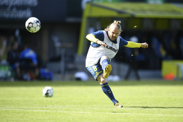 DNK: Brondby IF vs Hvidovre IF - Friendly Match