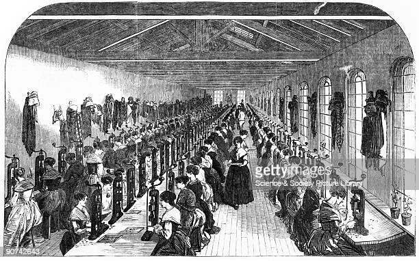 Image from The �Illustrated London News� Joseph Gillott had begun his Birmingham pen factory in 1823 at which time the new steel pens were just...