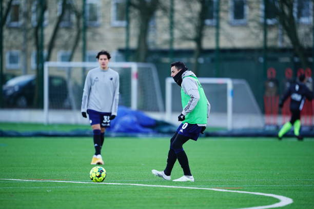 DNK: FC Copenhagen vs Hvidovre IF - Pre Season Test Match