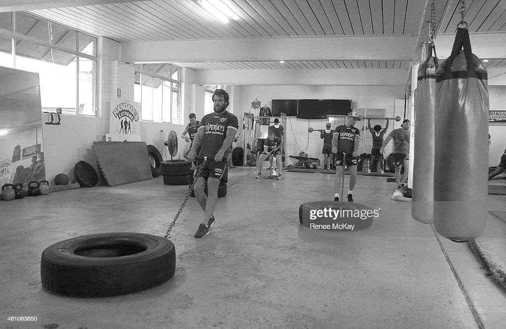 Manly Sea Eagles Training Session