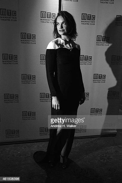 Image has been digitally processed] Actress Ruth Wilson attends the Constellations Broadway opening night after party at Urbo NYC on January 13 2015...
