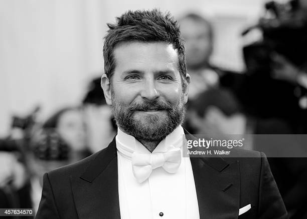 Image has been digitally processed] Bradley Cooper attends the Charles James Beyond Fashion Costume Institute Gala at the Metropolitan Museum of Art...