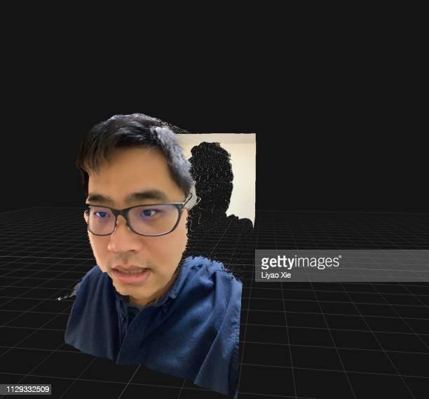 ai image manipulation - avatar foto e immagini stock