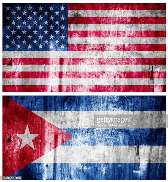 image montage of national flags - cuban flag stock pictures, royalty-free photos & images