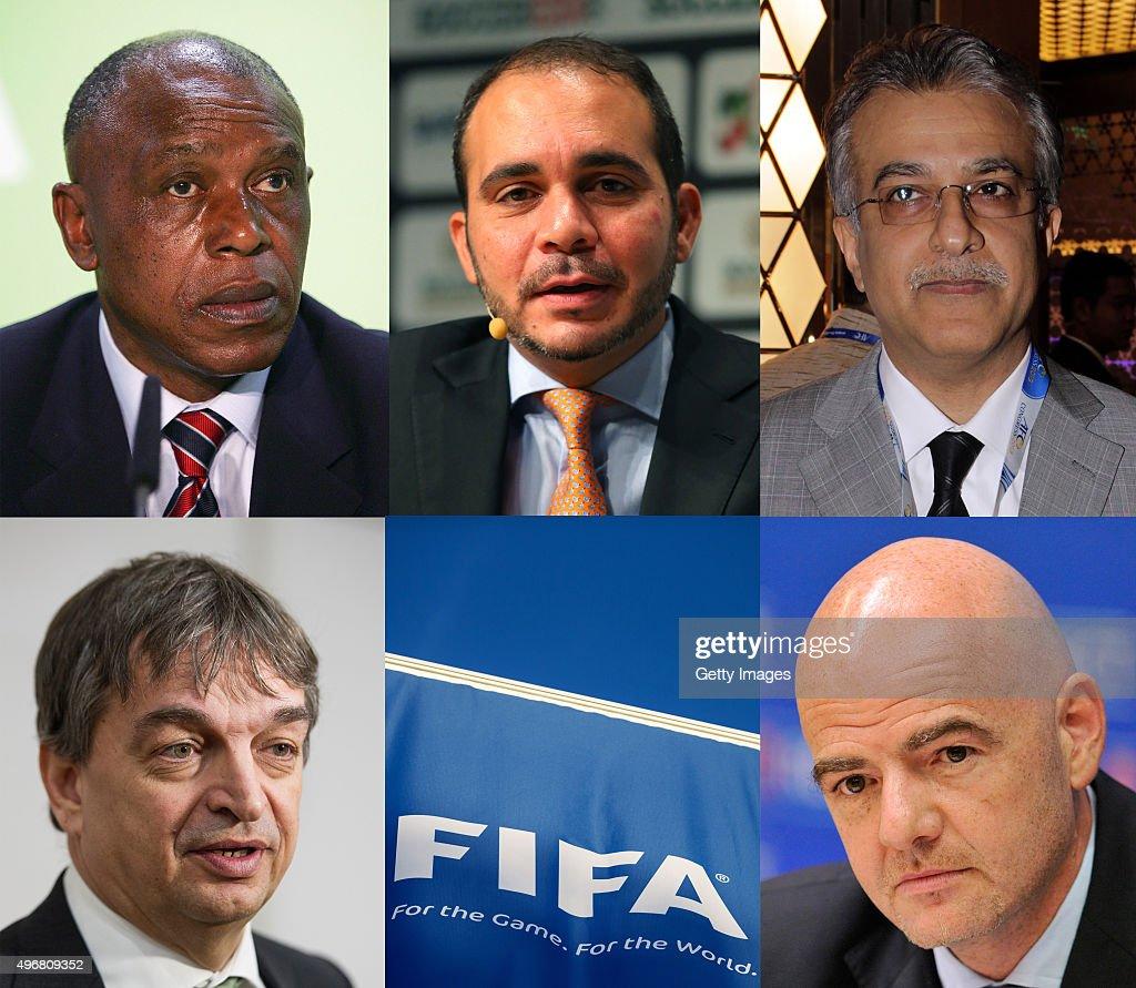 FIFA President Approved Candidates : Nachrichtenfoto