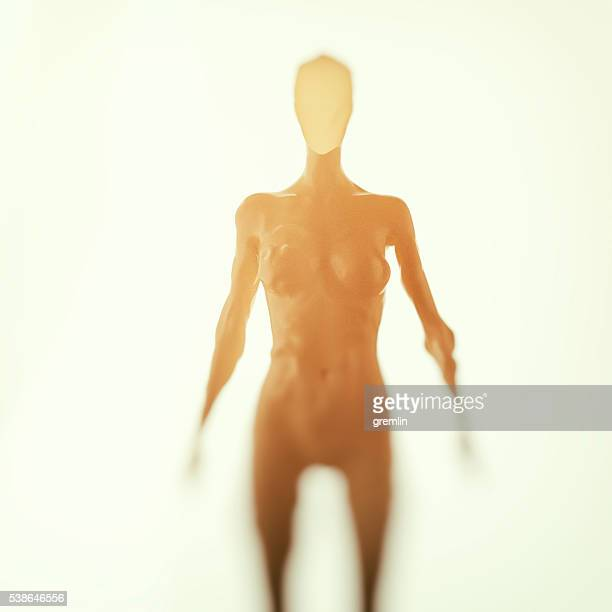 3D image of a cyborg