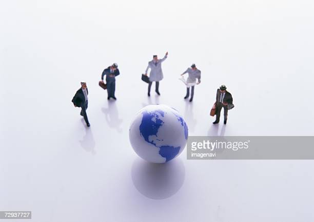 Image of global business people