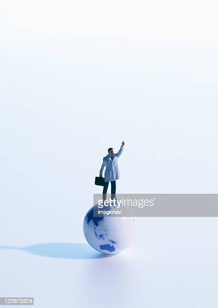 Image of global businessman