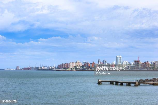Image of Montevideo skyline, Uruguay