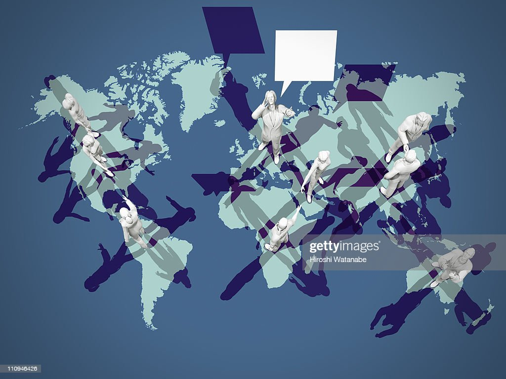 Image of social networking system : Stock Photo