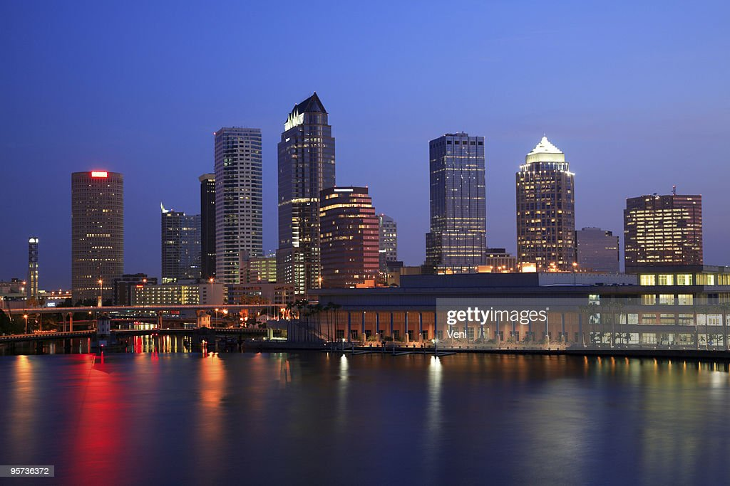 Image of the city Tampa in Florida : Stock Photo