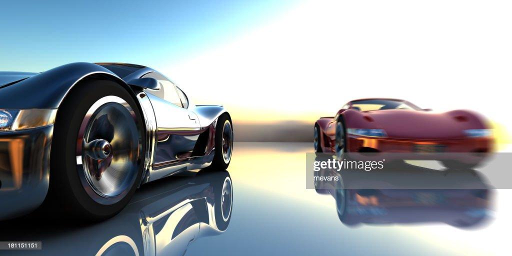 Necessidade de velocidade : Foto de stock