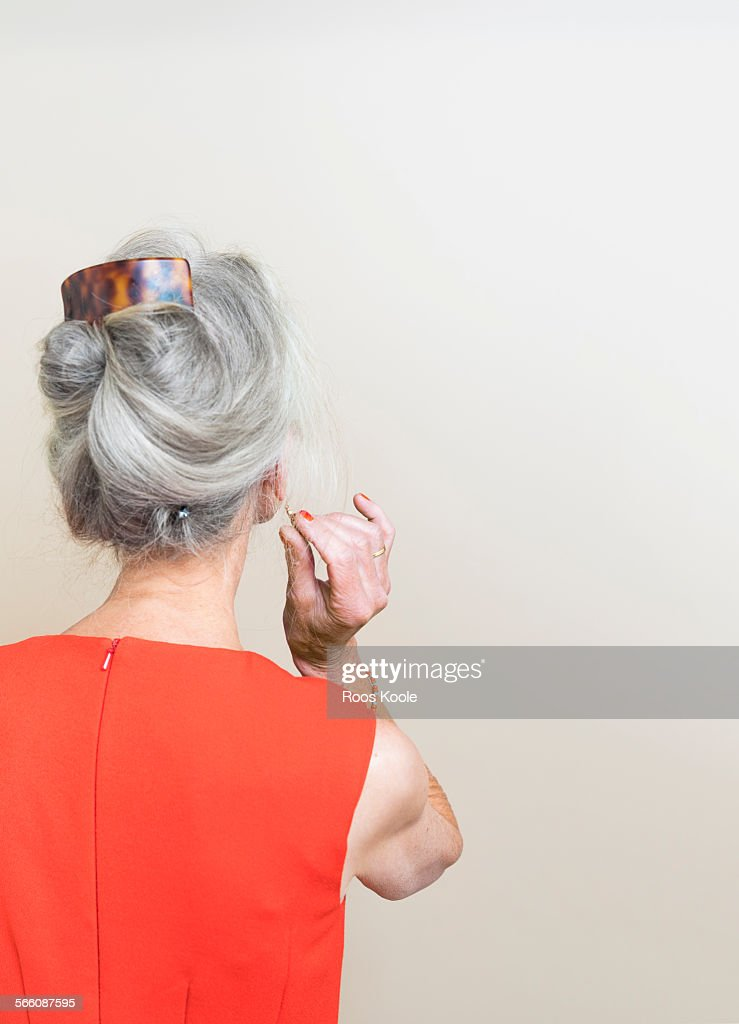 Image of womans back : Stock Photo