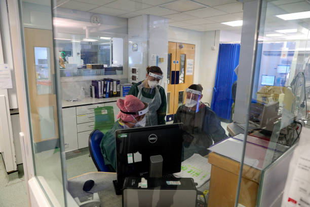 GBR: Inside Frimley Health NHS Foundation Trust As England Grapples With Covid-19 Pandemic