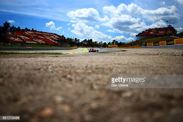 Image was created using a variable planed lens. Daniel Ricciardo of Australia driving the Red Bull Racing Red Bull-TAG Heuer RB12 TAG Heuer on track...