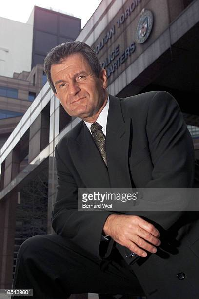 Deputy Chief Robert in fron to fthe Metro Toronto Polics Headquarters Thursday May 4 2000 Kerr who went on CBC's Fifth Estate saying he was being...