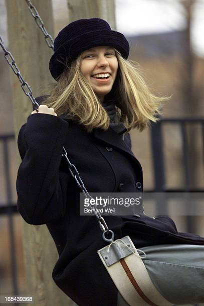 Erica Klein relaxes in a nearby Toronto park she takes her children to December 3 1999 Story is a first person account of Erika Klein's life the...
