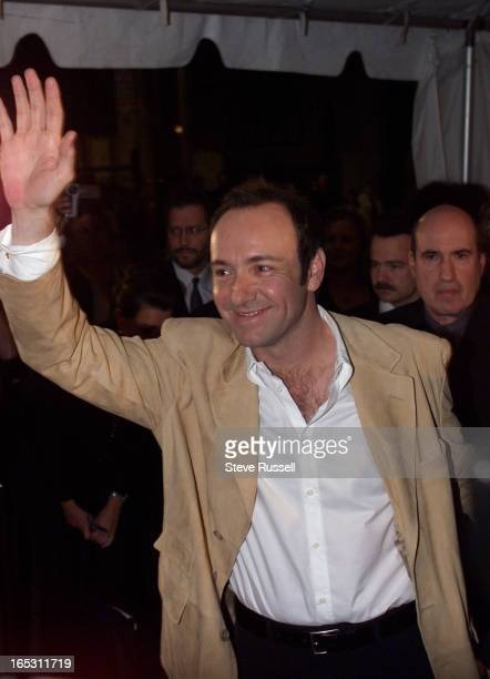 IMAGEKevin Spacey arrives at the world premiere of his movie 'American Beauty' at FilmFest in Toronto Saturday September 11 1999