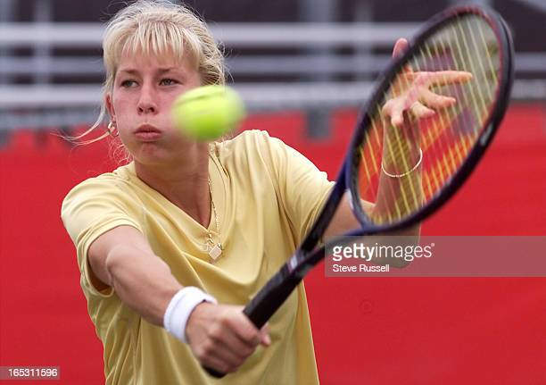 IMAGEKitchener's Aneta Soukup was part of a PanAm double team that won Bronze She hits the ball during practice for the qualifying tournament for the...