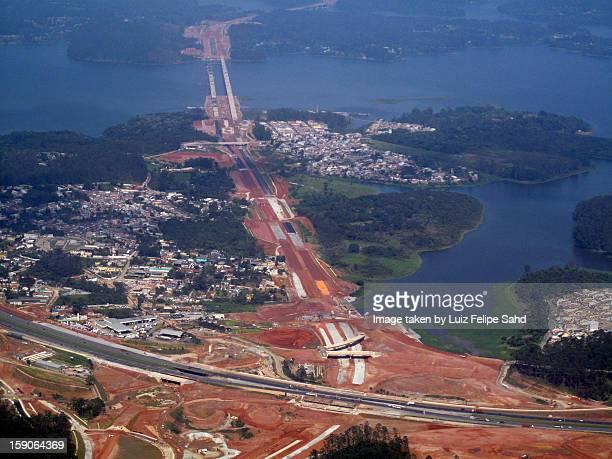 imagens aéreas: são paulo - sao bernardo do campo stock pictures, royalty-free photos & images