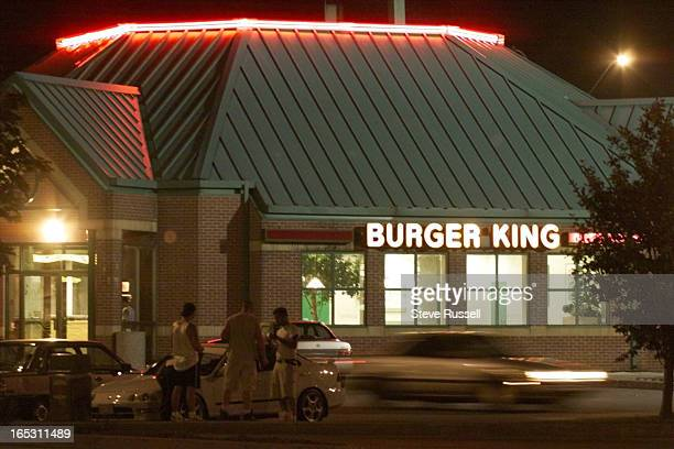 IMAGEParking lot at the Burger King on Kennedy Road in Markham where Sandy Ibrahim was shot to death Monday July 5 1999
