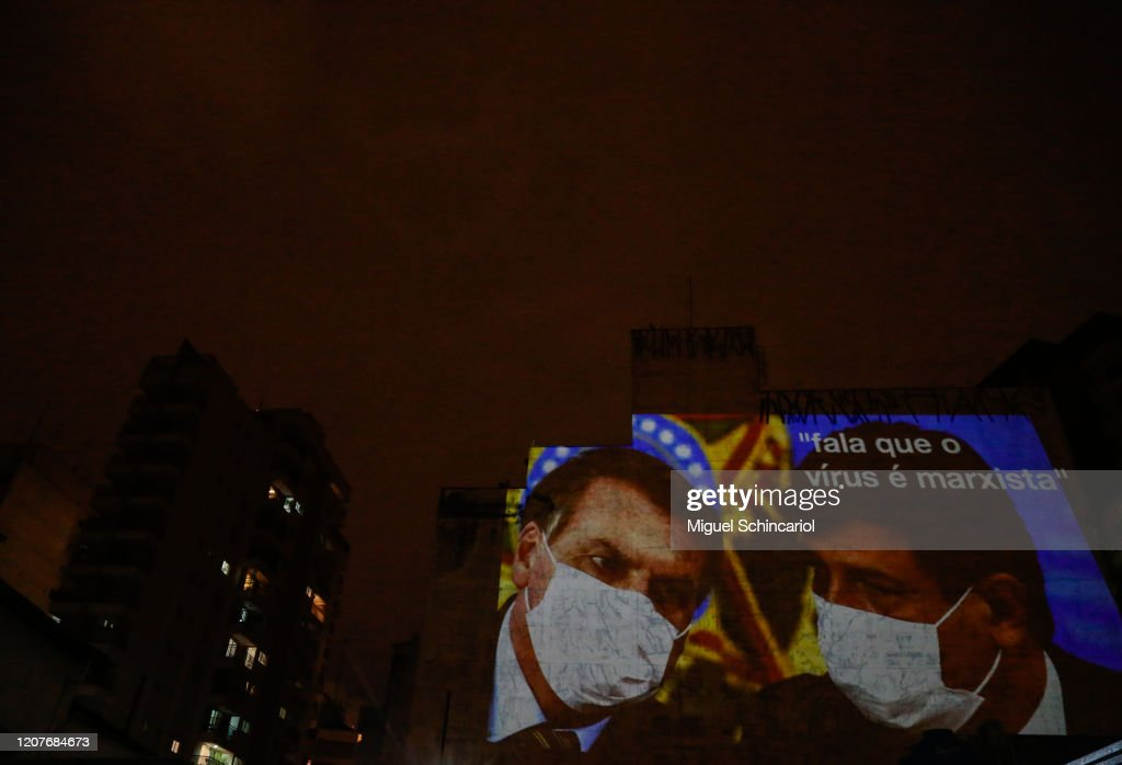Pots and Pans Protest (Panelaco) Against Brazilian President Jair Bolsonaro : News Photo