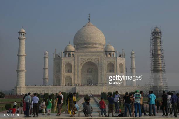 Images around and in the world heritage site and one of the most popular globally tourist attractions Taj Mahal Photos are from early morning to...