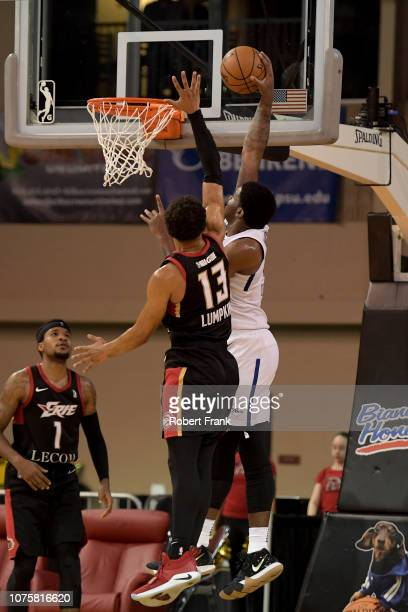 Images from an NBA GLeague game between the Delaware Blue Coats and the Erie Bayhawks on December 29 2018 at Erie Insurance Arena in Erie PA NOTE TO...