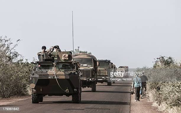 "Images from Mali, West Africa, during the ongoing French intervention against Islamist and tribal rebels in the north of the country. ""A French..."