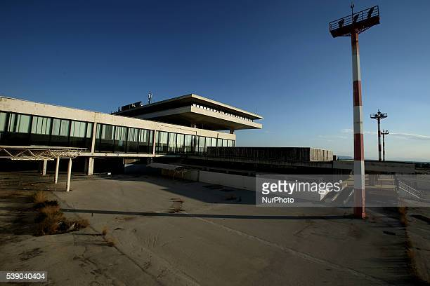 Images from the premises at east terminal of the former Athens airport on June 8 2016 The Greek government on Tuesday signed a Memorandum of...