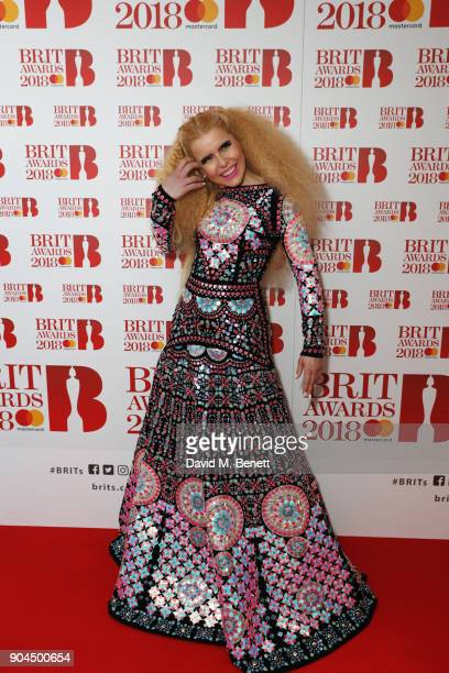 Images from this event are only to be used in relation to this event attends the BRIT Awards 2018 nominations at ITV Studios on January 13 2018 in...