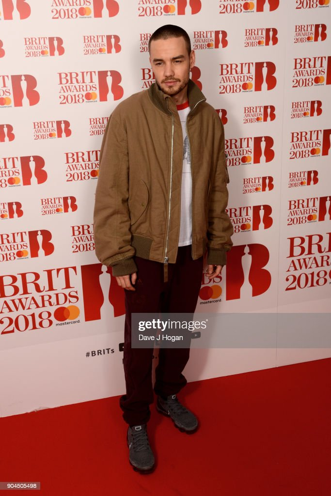 Images from this event are only to be used in relation to this event. Liam Payne attends The BRIT Awards 2018 nominations photocall held at ITV Studios on January 13, 2018 in London, England.