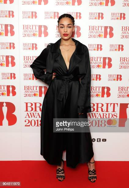 EDITOR'S NOTE Images from this event are only to be used in relation to this event Jorja Smith attends The BRIT Awards 2018 nominations photocall...